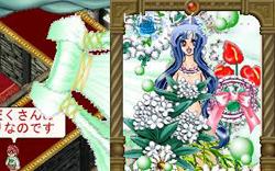 記念ドレスを超拡大して神秘の森の泉を表現!
