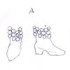 ミルティーナさま02:「真珠飾りのブーツ(白)A」