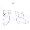 ミルティーナさま03:「真珠飾りのブーツ(白)B」