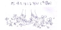 ミルティーナさま09:「花咲きほこる靴(花の色全部)」