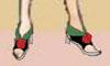 レイア オアシスさま06:「真紅のロサのサンダル」足元にこそ乙女の美しさを