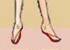 レイア オアシスさま13:「チェーンアクセ付きビーチサンダル」砂浜は暑いですよ?草履にも使えるかもしれない?