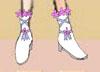 レイア オアシスさま19:「フラワーブーツ」まるで足元にお花畑があるよう…