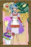 メイファさまSS01:これくらいのミディアム丈でボリュームのある服にしっくり合う靴があると嬉しいです!