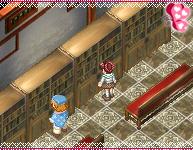 王子といっしょに読書できます